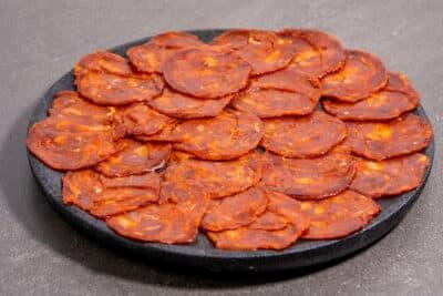 Chorizo bBllota cular iberico pata negra tranché