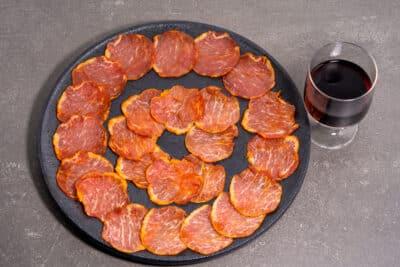 Lomo iberique bellota pata negra tranche premium