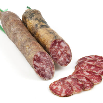 Saucisson cular bellota iberique tranche